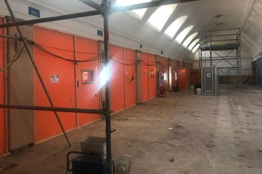 Asbestos removal and disposal from grade II listed building at 9 Milbank, Westminster